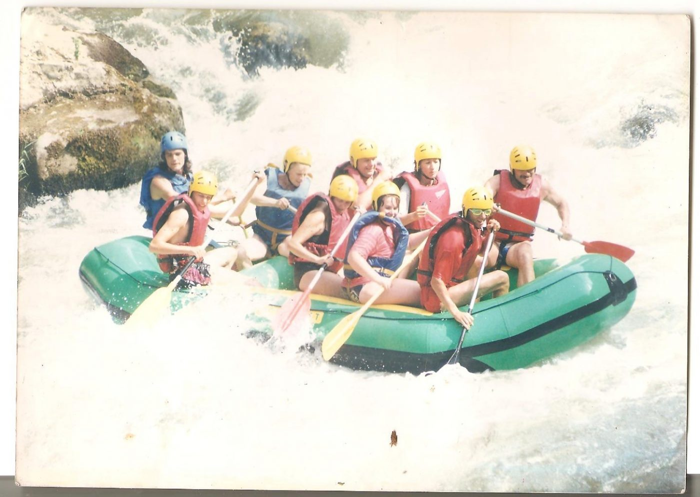 Rafting à lunettes