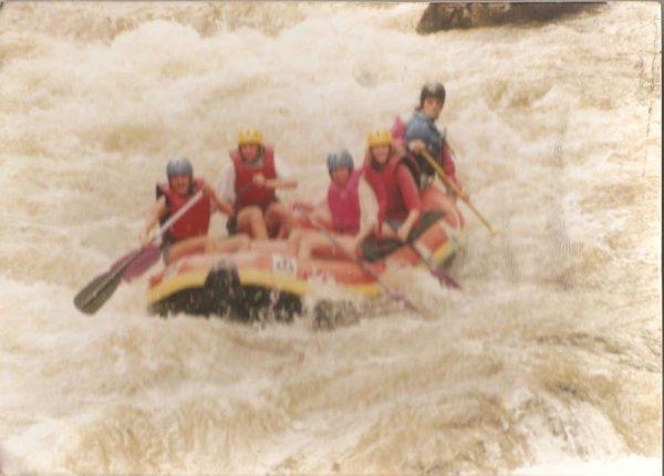 Rafting dans le Verdon, version année 90 !